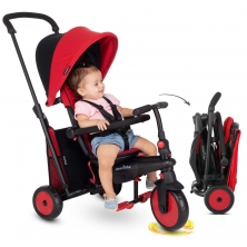 SmarTrike 6in1 Folding Baby Tricycle STR3-Red (NEW)
