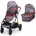 Cosatto Wow XL 3in1 Pram and Pushchair-Charcoal Mister Fox *