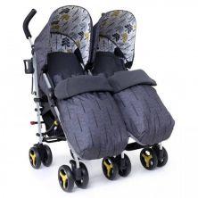 Cosatto Supa Dupa Twin Stroller-Fika Forest