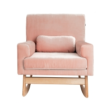 Gaia Baby Rocking/Feeding Chair-Antique Rose (NEW)