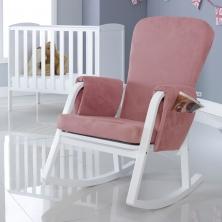 Ickle Bubba Dursley Rocker Chair- Blush Pink
