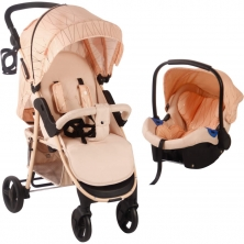My Babiie MB30 Stroller And Car Seat-Rose Gold & Blush NEW)