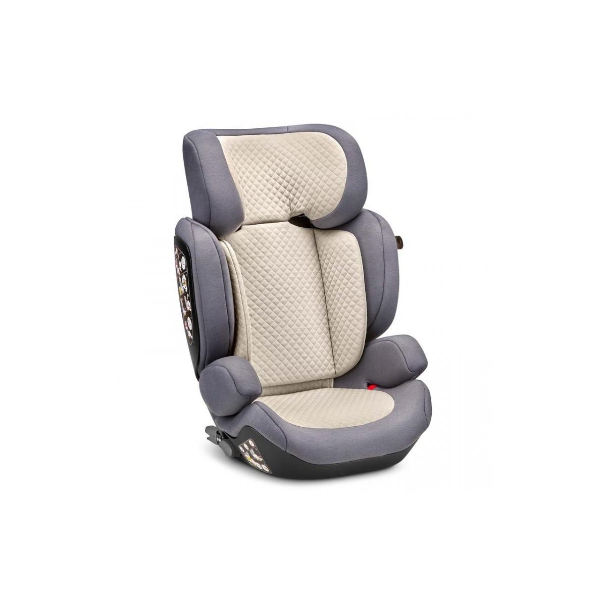ABC Design Mallow Group 2/3 Isofix Car Seat-Stone (New 2020)
