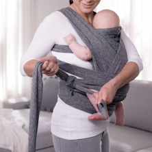 Chicco Boppy ComfyFit Baby Carrier-Grey (NEW)
