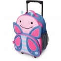 Skip Hop Zoo Rolling Luggage-Butterfly (NEW)