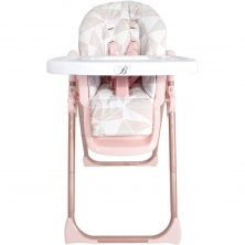 My Babiie Faiers MBHC8RG Premium Highchair-Rose Gold