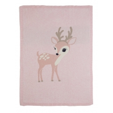 Bizzi Growin Fawn Knitted Blanket (NEW)