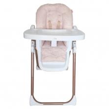 My Babiie Samantha Faiers Tropical Premium Highchair-Rose Gold Blush