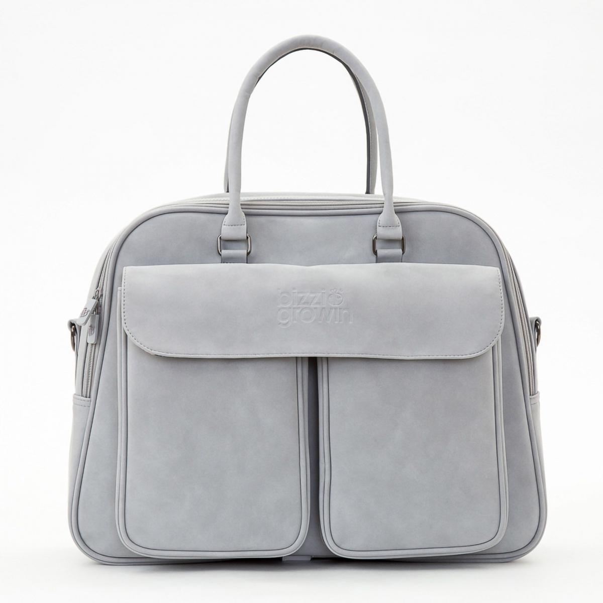 Bizzi Growin Vegan Leather Pod Bag-Whisper Grey (NEW)