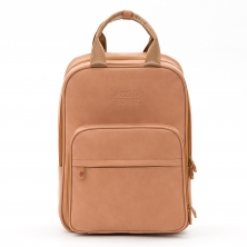 Bizzi Growin Vegan Leather Rucpod Travel Bag-Porcini (NEW)