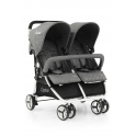 BabyStyle Oyster Twin Stroller-Mercury (NEW)