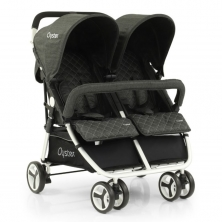 BabyStyle Oyster Twin Stroller-Pepper (NEW)