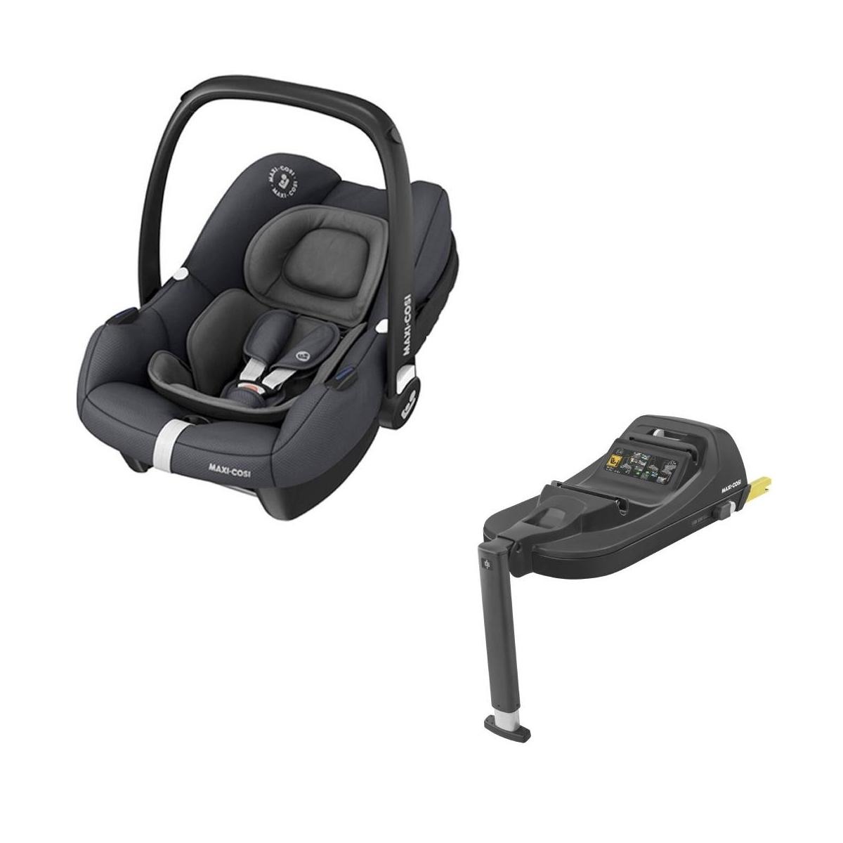 Maxi Cosi Tinca Car Seat With Tinca Base-Essential Graphite