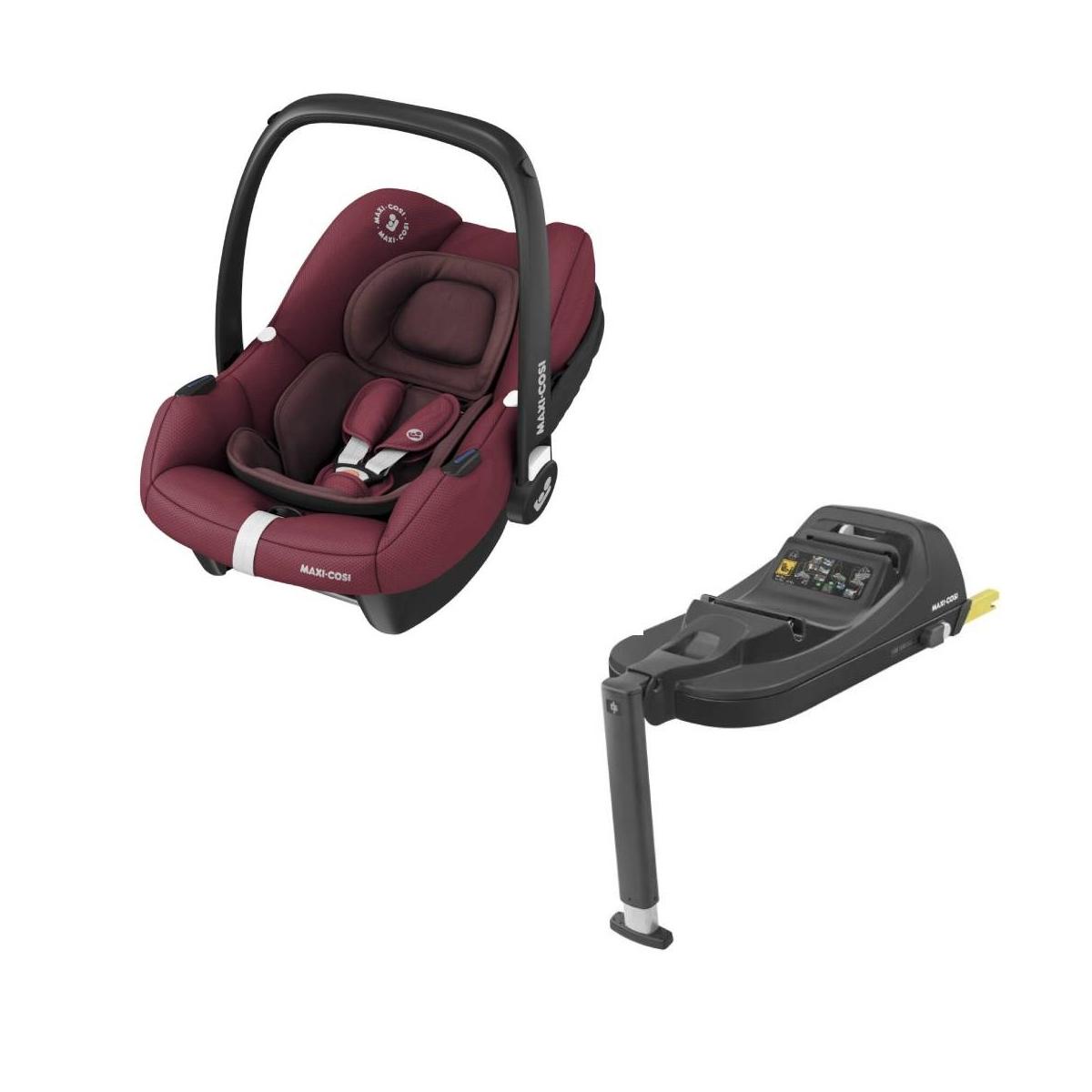 Maxi Cosi Tinca Car Seat With Tinca Base-Essential Red
