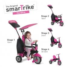 SmarTrike Glow 4in1 Baby Trike-Pink (NEW)