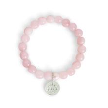 Aska Maternity Movement Bracelet-Rose Quartz Silver (NEW)