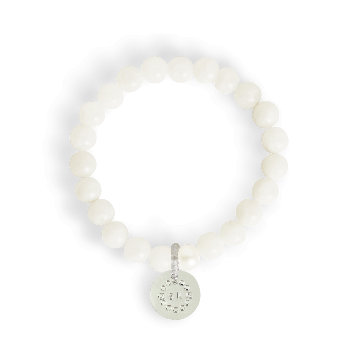 Aska Maternity Movement Bracelet-Moonstone Silver (NEW)