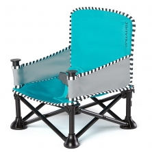 Summer Infant Pop N Sit Booster Seat-Aqua (NEW)