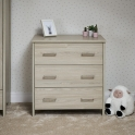 Obaby Nika Changing Unit-Oatmeal