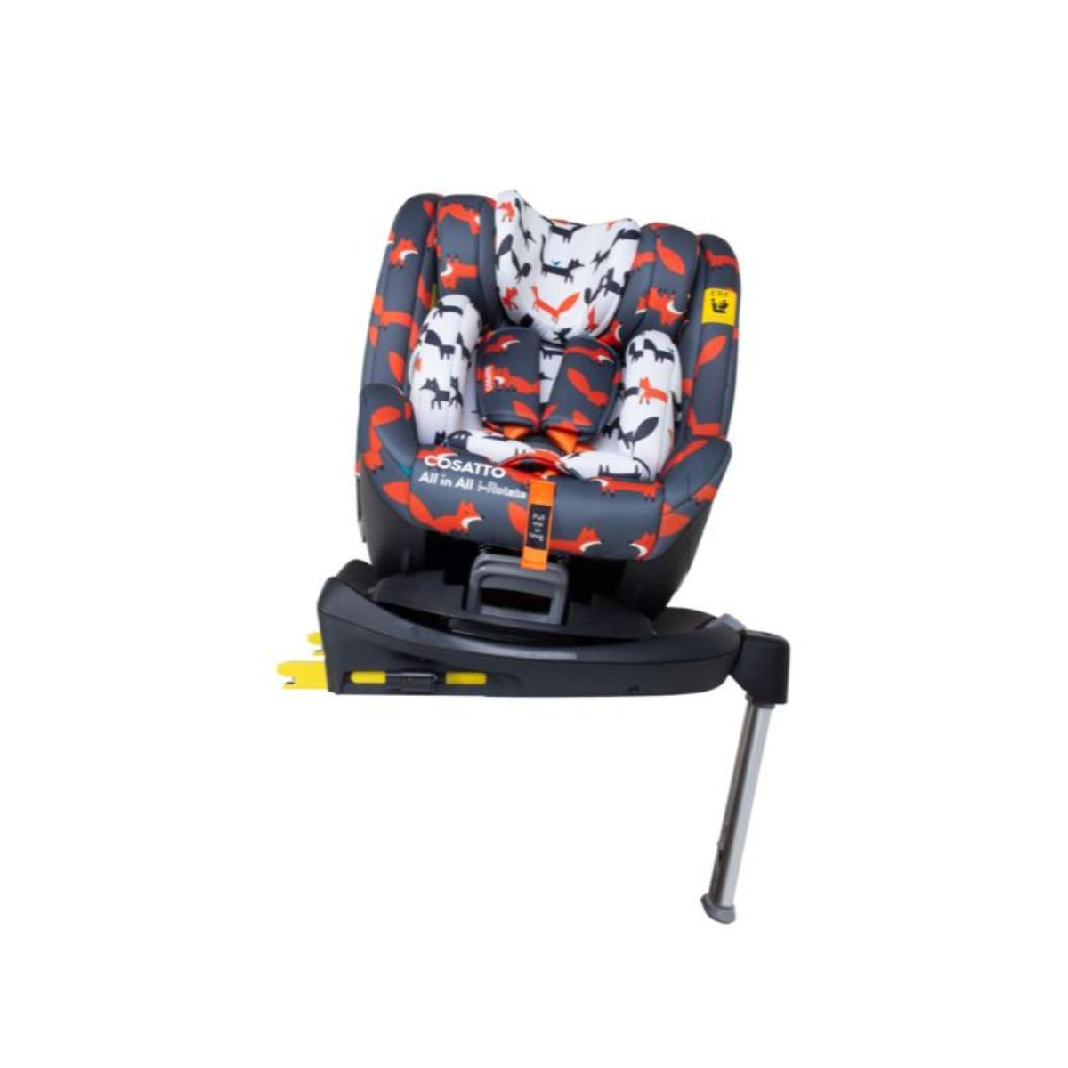 Cosatto All in All I-Rotate 0+123 Car Seat-Charcoal Mister Fox