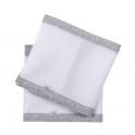 Purflo Breathable Cot Bumper-Cloud Grey