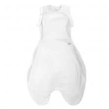 Purflo Swaddle To Sleep Bag 2.5 Tog 0-4m All Seasons-Soft White (NEW)