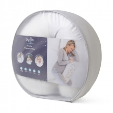 Purflo Breathe Pregnancy Pillow-Minimal Grey (NEW)