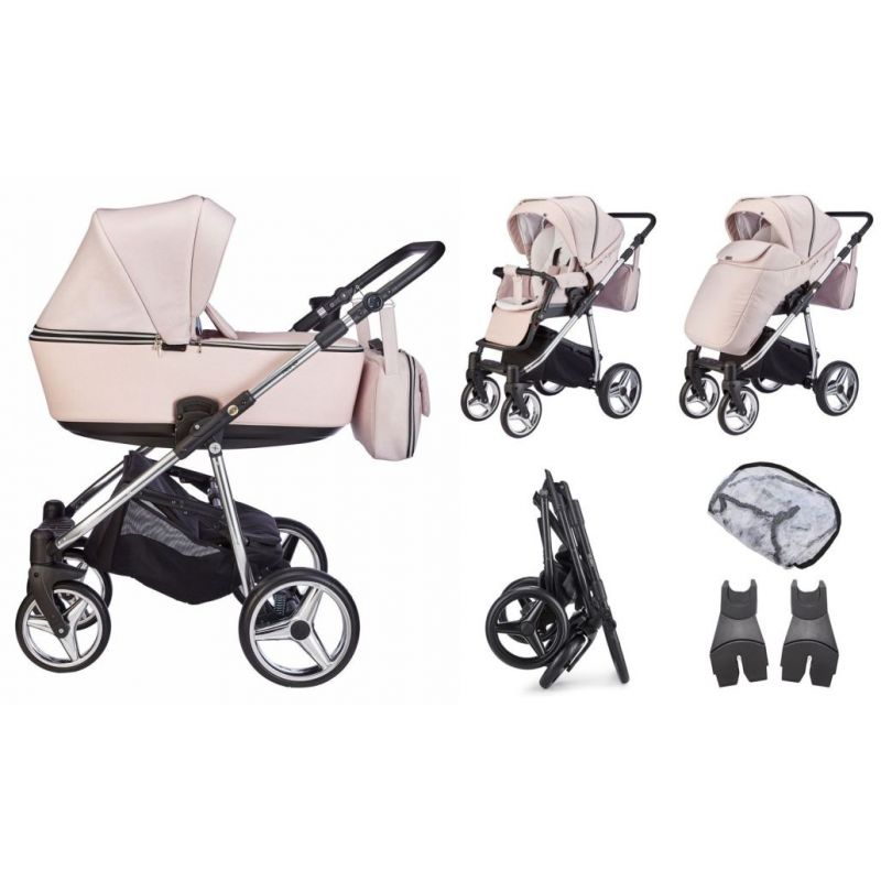 Mee-go Santino Special Edition Travel System-Fairy Dust (2021) + Free Changing Bag Worth £80!