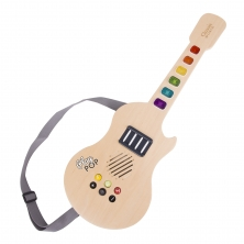 Classic World Glowing Wooden Electrical Guitar (NEW)