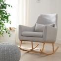 Tutti Bambini Oscar Rocking Chair-Pebble/Grey