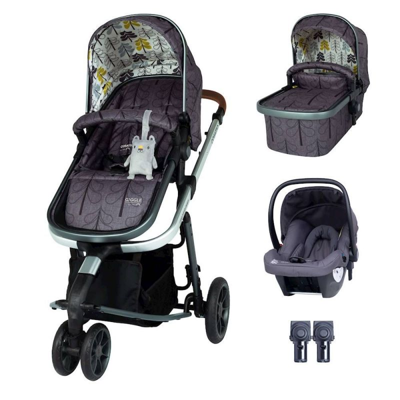 Cosatto Giggle 3 Travel System Bundle-Fika Forest