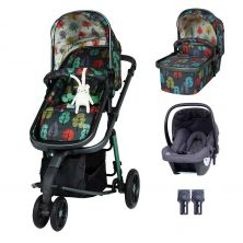 Cosatto Giggle 3 Travel System Bundle-Hare Wood