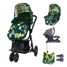 Cosatto Giggle 3 Pram & Pushchair Whole 9 Yards Bundle-Into The Wild