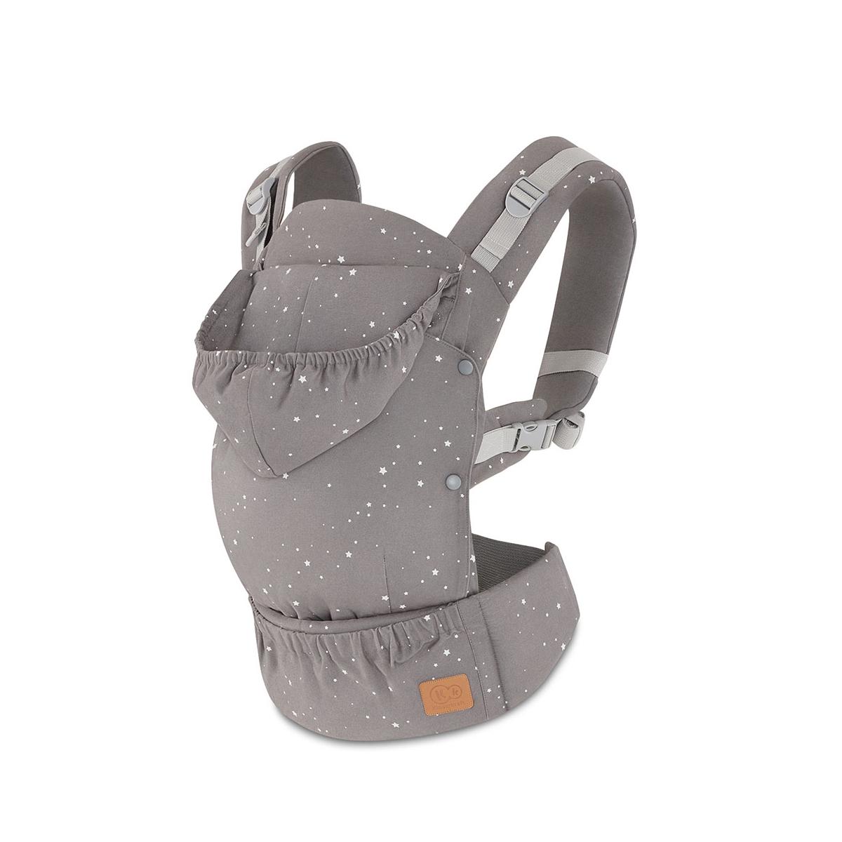 Kinderkraft Huggy Baby Carrier-Grey