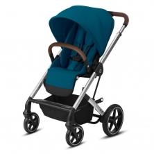 Cybex Balios S Lux Stroller-Navy Blue/Silver (2021)