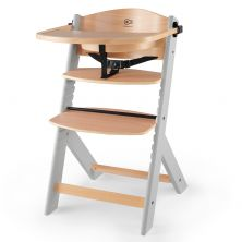 Kinderkraft Enock Highchair -Wooden/Grey