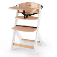 Kinderkraft Enock Highchair -Wooden/White