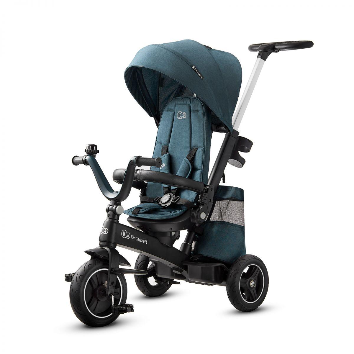 Kinderkraft EasyTwist Tricycle  Midnight Green
