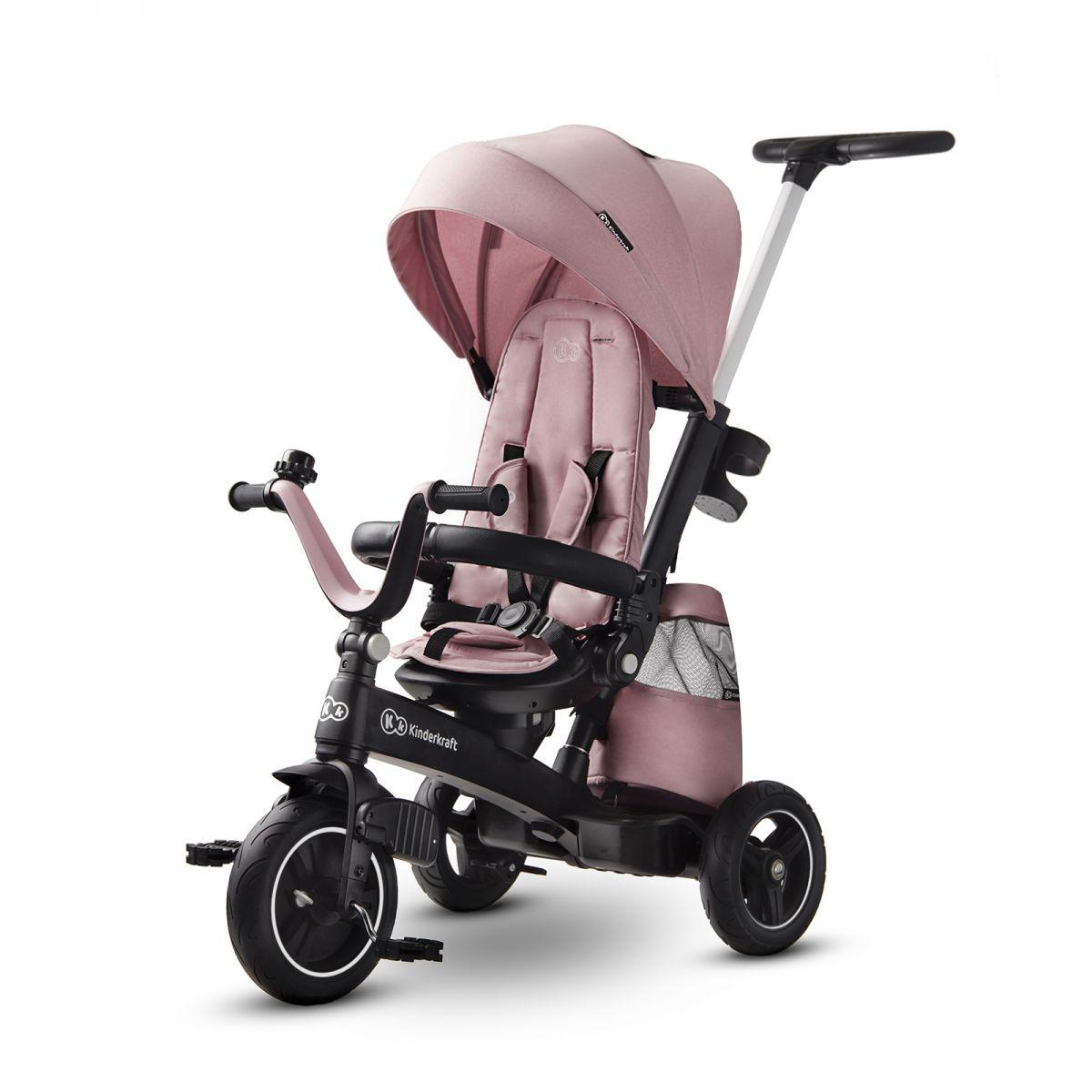 Kinderkraft EasyTwist Tricycle  Mauvelous Pink