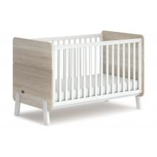 Boori Natty Cot Bed-White & Oak (2021)