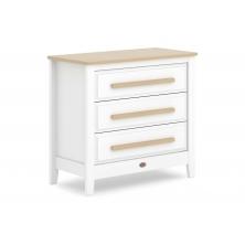 Boori Linear 3 Drawer Chest-White & Almond (2021)