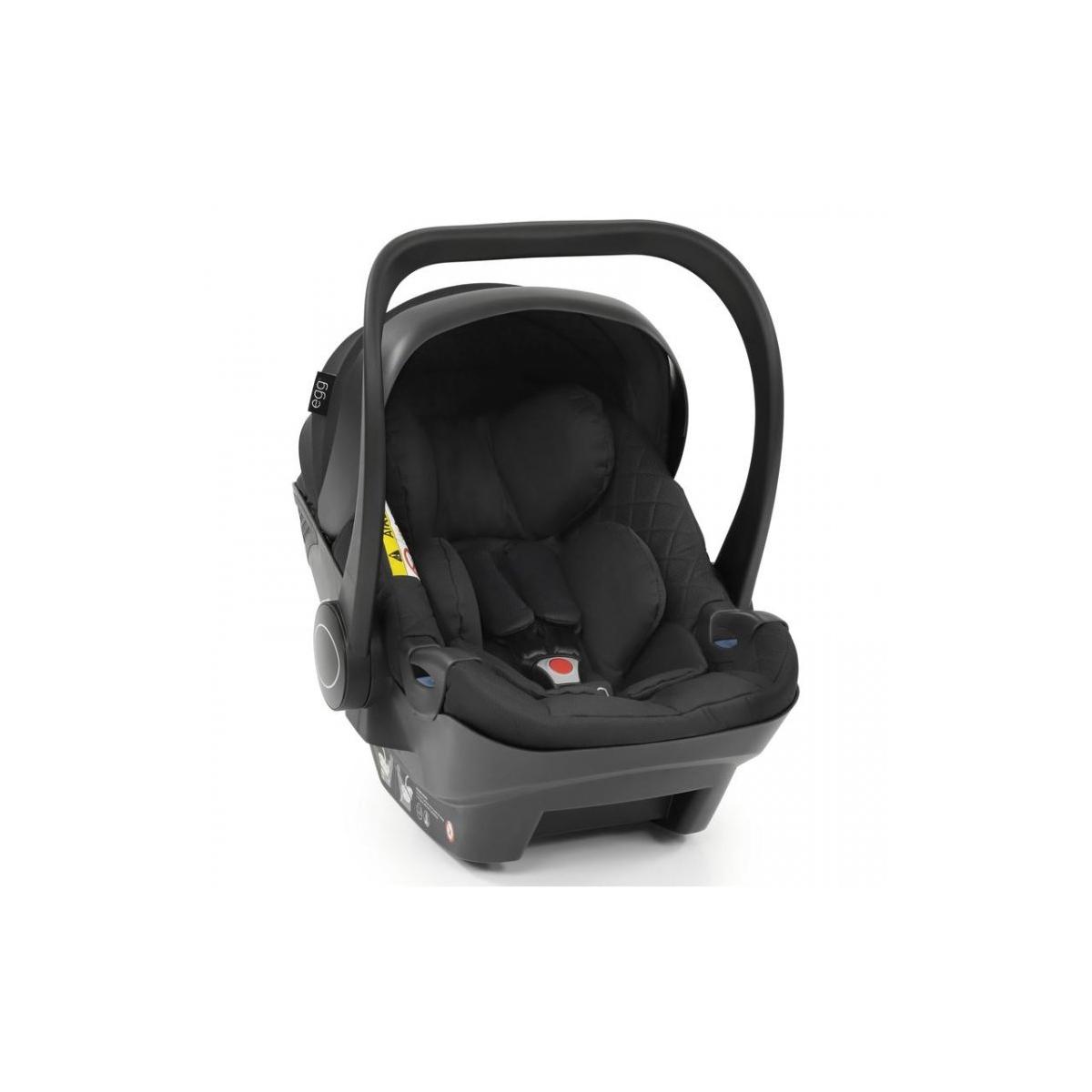 egg 2 Shell Car Seat-Diamond Black (NEW)