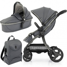 egg® 2 Special Edition 2in1 Pram System-Jurassic Grey (NEW)