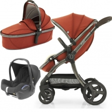 egg® 2 3in1 Cabriofix Travel System-Paprika (NEW)
