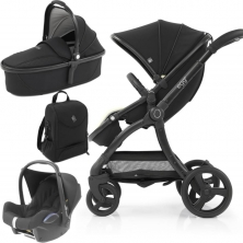 egg® 2 Special Edition 3in1 Cabriofix Travel System-Just Black (NEW)