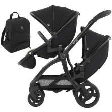 egg® 2 Special Edition Tandem Stroller-Just Black (NEW)