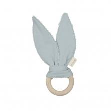 Fabelab Bunny Teether-Foggy Blue