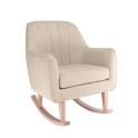 Tutti Bambini Noah Rocking Chair-Stone/Natural