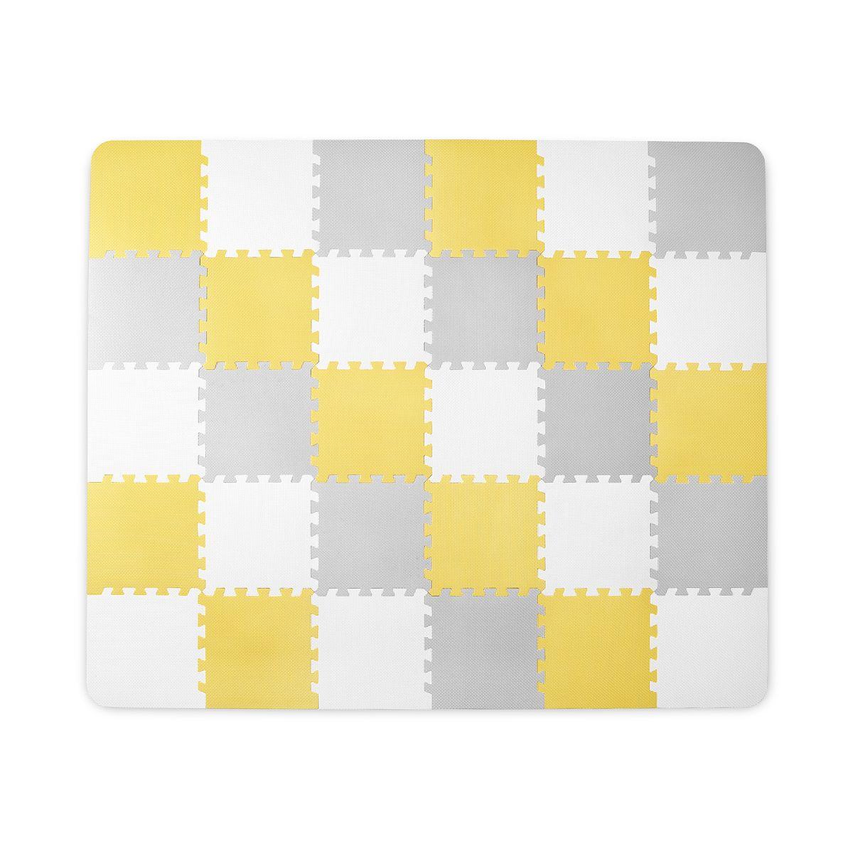 Kinderkraft Luno Foam Mat-Yellow