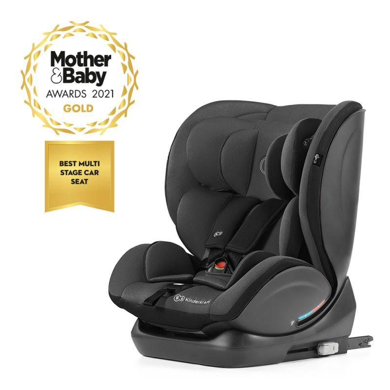 Kinderkraft MyWay Group 0/1/2/3 Car Seat with ISOFIX Base-Black